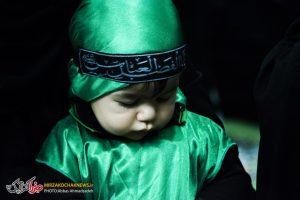 گزارش تصویری مراسم شیرخوارگان حسینی در صومعه سرا
