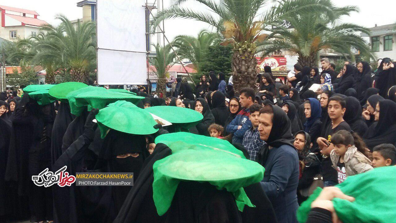 مراسم عزاداری سوم امام حسین علیهالسلام درصومعه سرا برگزار شد