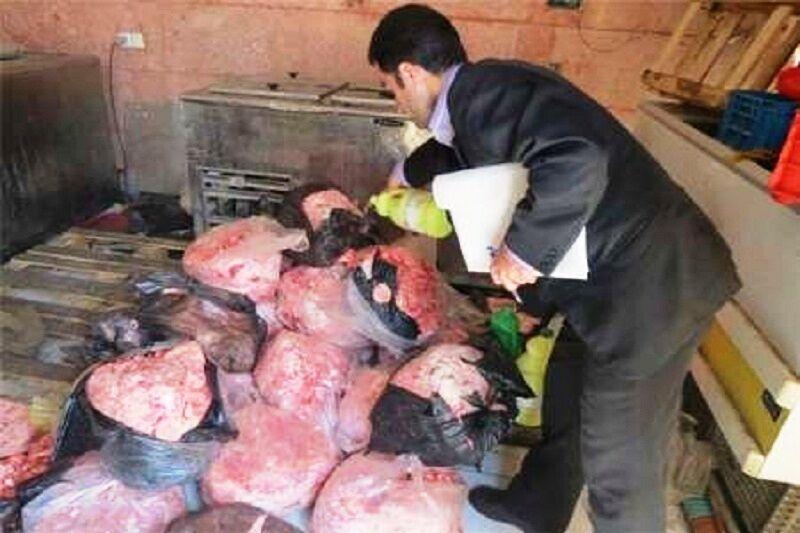 900 کیلوگرم گوشت غیربهداشتی در صومعه سرا کشف و ضبط شد