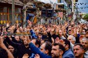 """حال و هوای""""اربعین""""حسینی در گوراب زرمیخ صومعه سرا"""