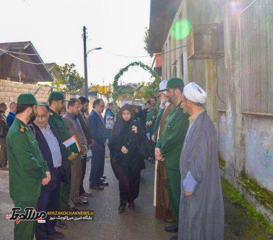 اعزام ۲۴۵ دانش آموزبسیجی صومعه سرا به مناطق عملیاتی غرب کشور