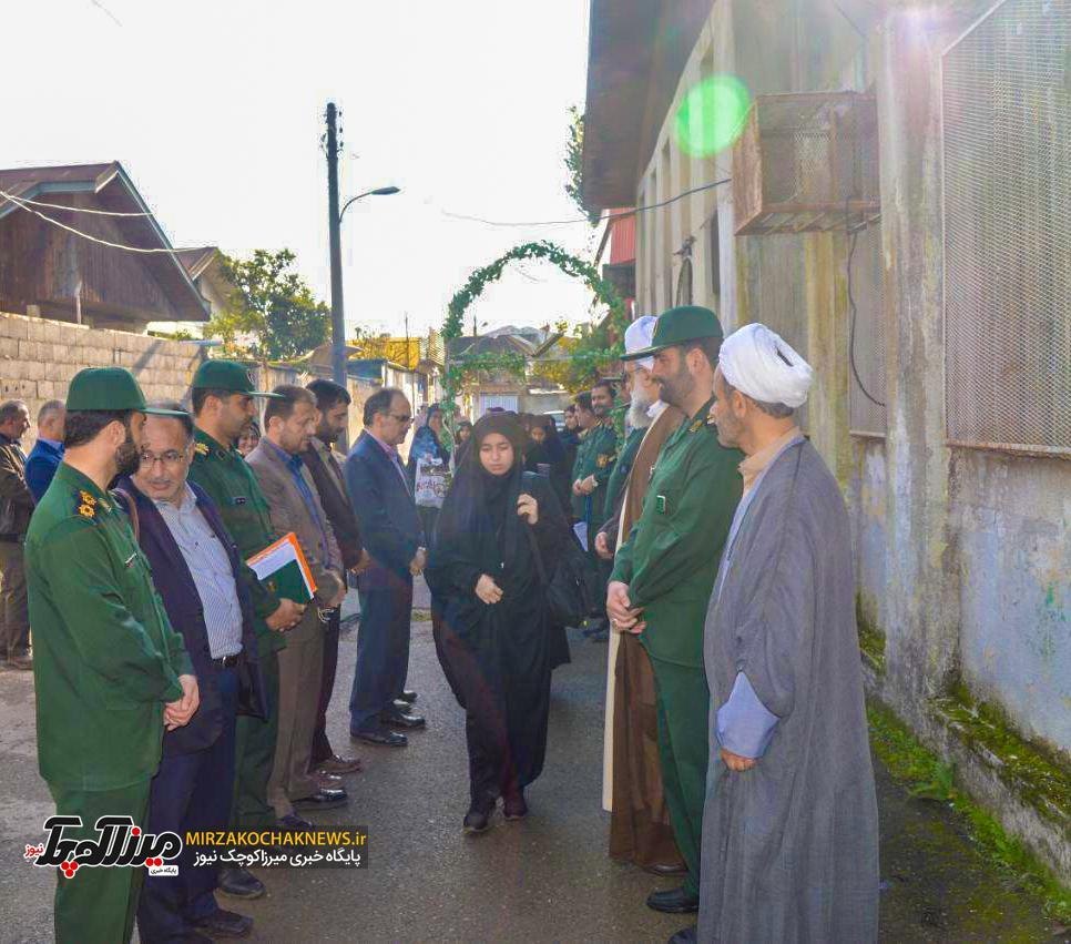 اعزام 245 دانش آموزبسیجی صومعه سرا به مناطق عملیاتی غرب کشور