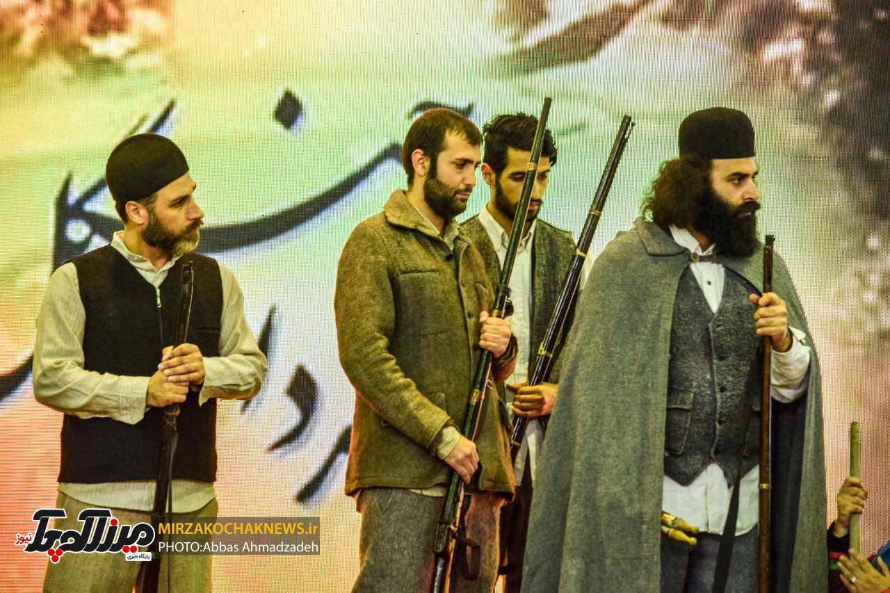 همایش بزرگداشت روحانی مبارز میرزاکوچک جنگلی برگزار شد