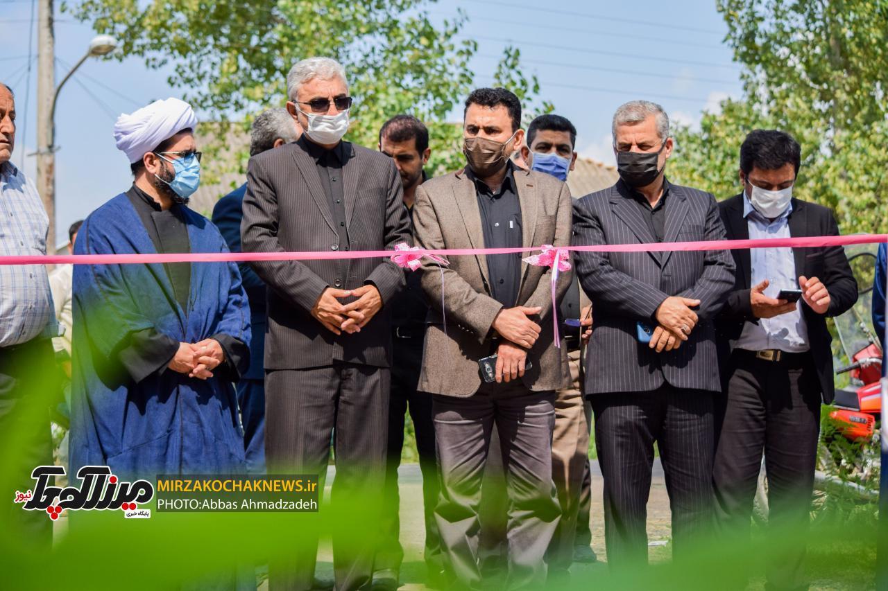 ۴۷ پروژه با اعتبار ۵ میلیارد تومان در صومعهسرا افتتاح شد+تصاویر