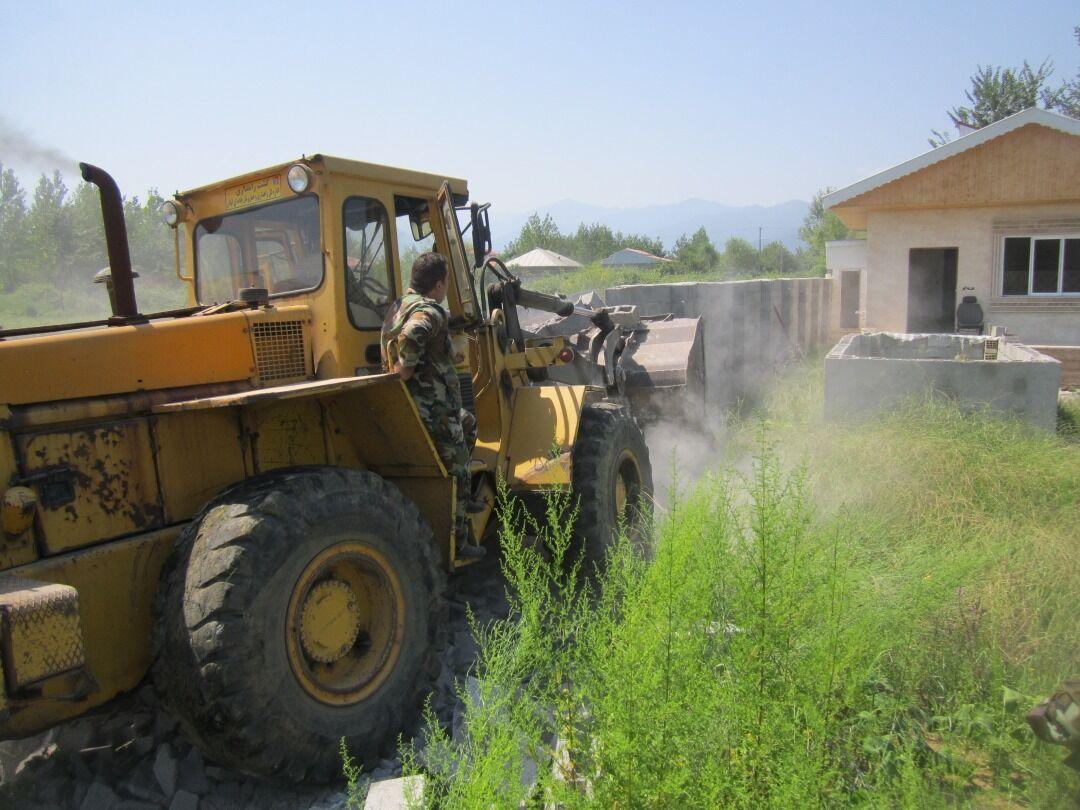 ۱۳ هکتار اراضی ملی صومعه سرا رفع تصرف شد