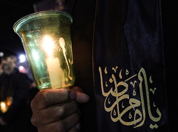 مردم سوگوار شهادت امام رئوف/ صومعه سرا در ماتم فرو رفت