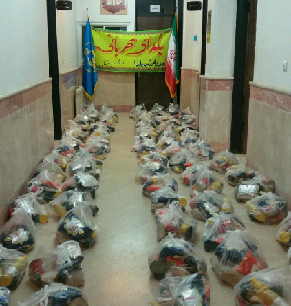 200 بسته کمک معیشتی در گوراب زرمیخ صومعه سرا توزیع می شود .