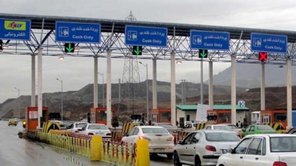 عادی شدن تردد خودروها بین 14 شهرستان زرد گیلان