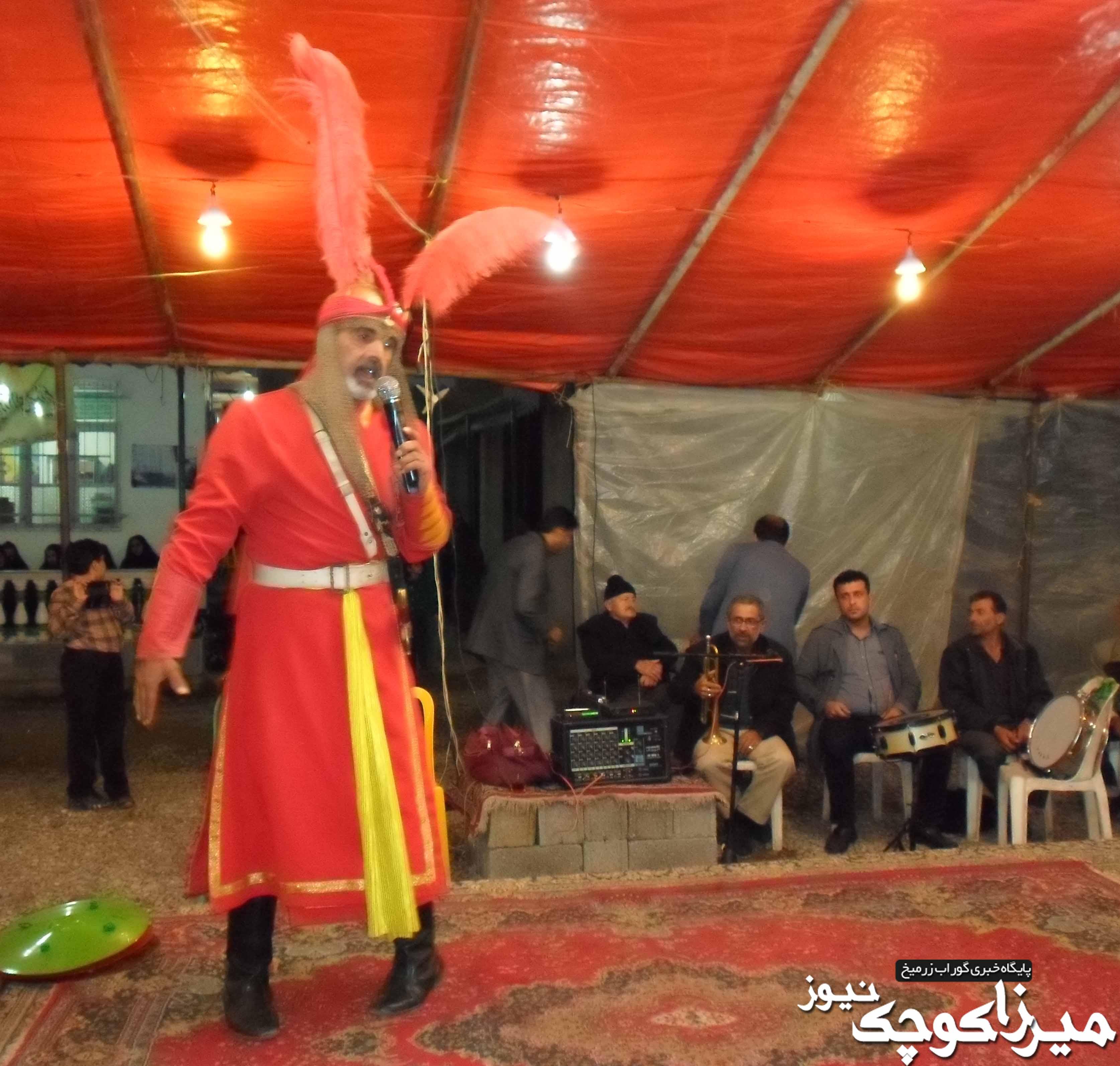 مراسم تعزیه خوانی عاشورای حسینی در پشتیر + عکس